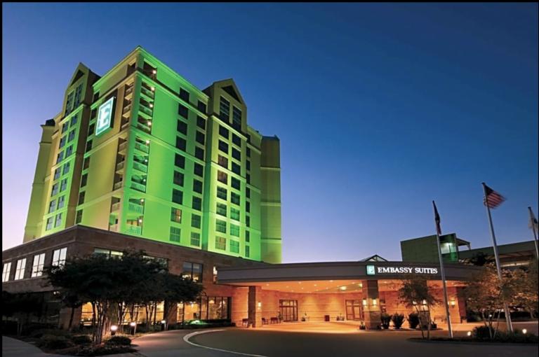 Embassy Suites Frisco Hotel & Convention Center 7600 John Q Hammons Dr, Frisco, TX